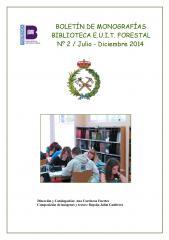 boletin de monografias 2014